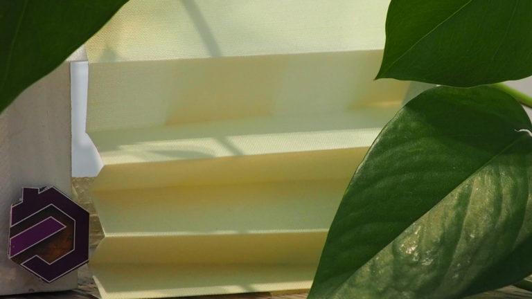 Auf Maß Plissee Brix 1102 (Unifarben)
