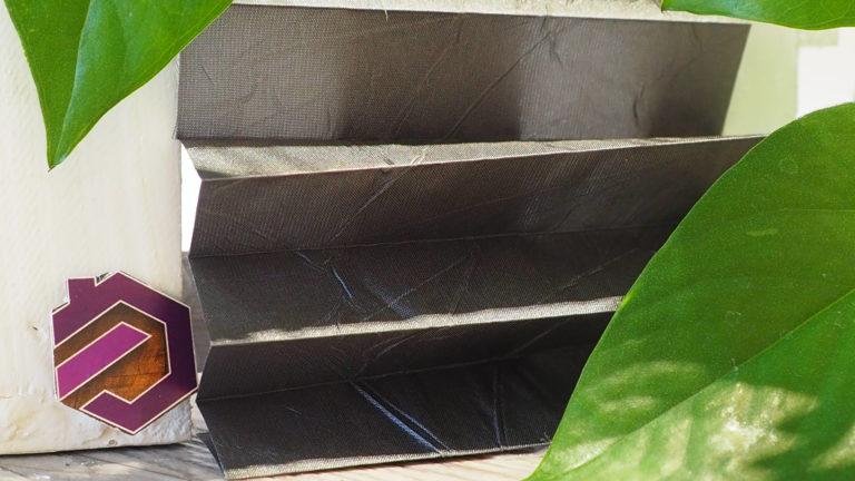 Maß Plissee Kollektion Kamari / Farbe 04 / Struktur