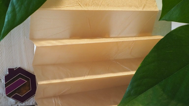 Maß Plissee Kollektion Kamari / Farbe 05 / Struktur