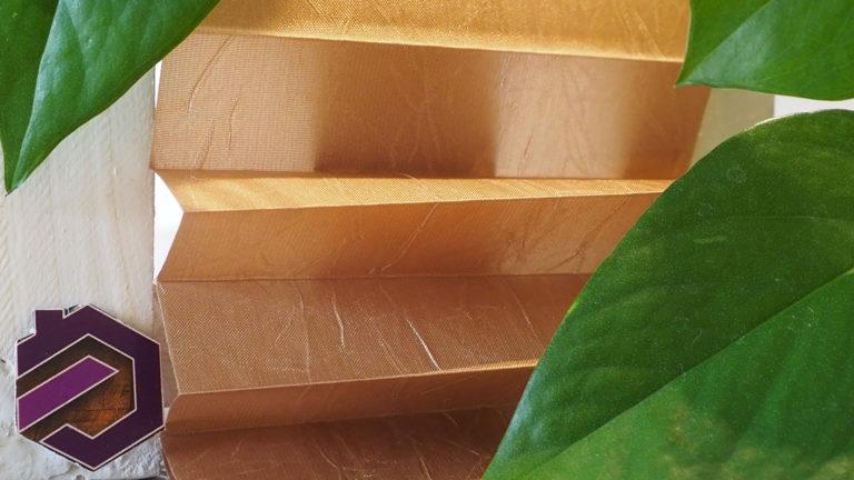 Maß Plissee Kollektion Kamari / Farbe 07 / Struktur