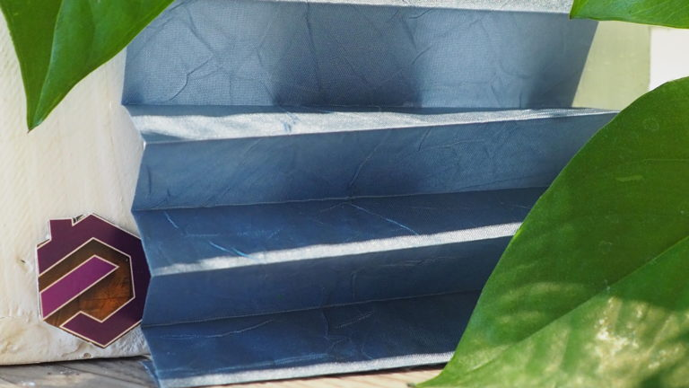 Maß Plissee Kollektion Kamari / Farbe 15 / Struktur