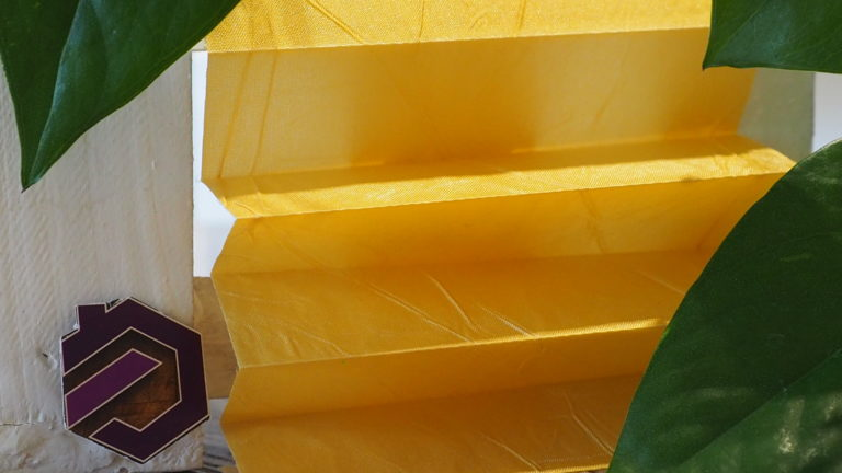 Maß Plissee Kollektion Kamari / Farbe 23 / Struktur