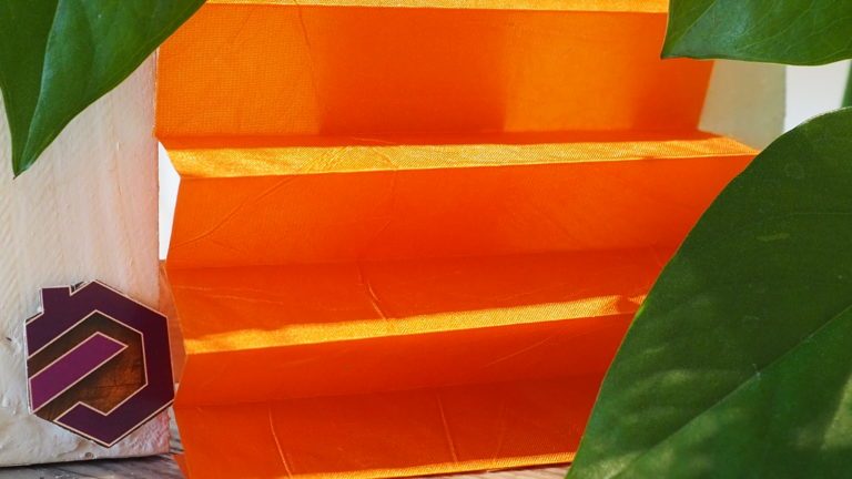 Maß Plissee Kollektion Kamari / Farbe 24 / Struktur